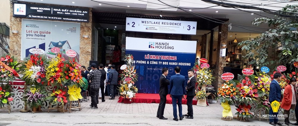 Grand Opening Ceremony of Hanoi Housing Office and Company