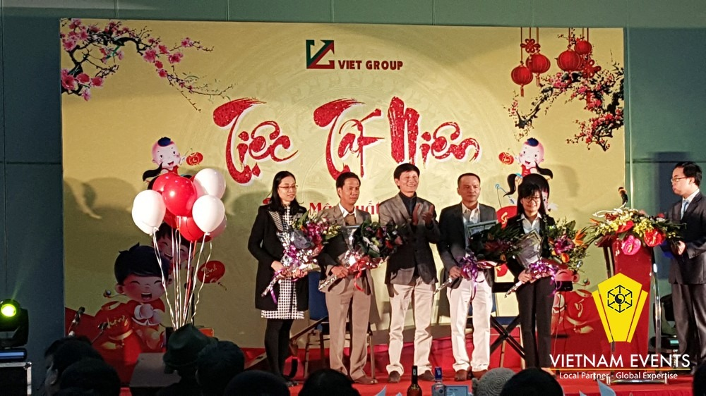 Viet Group year end party 2017