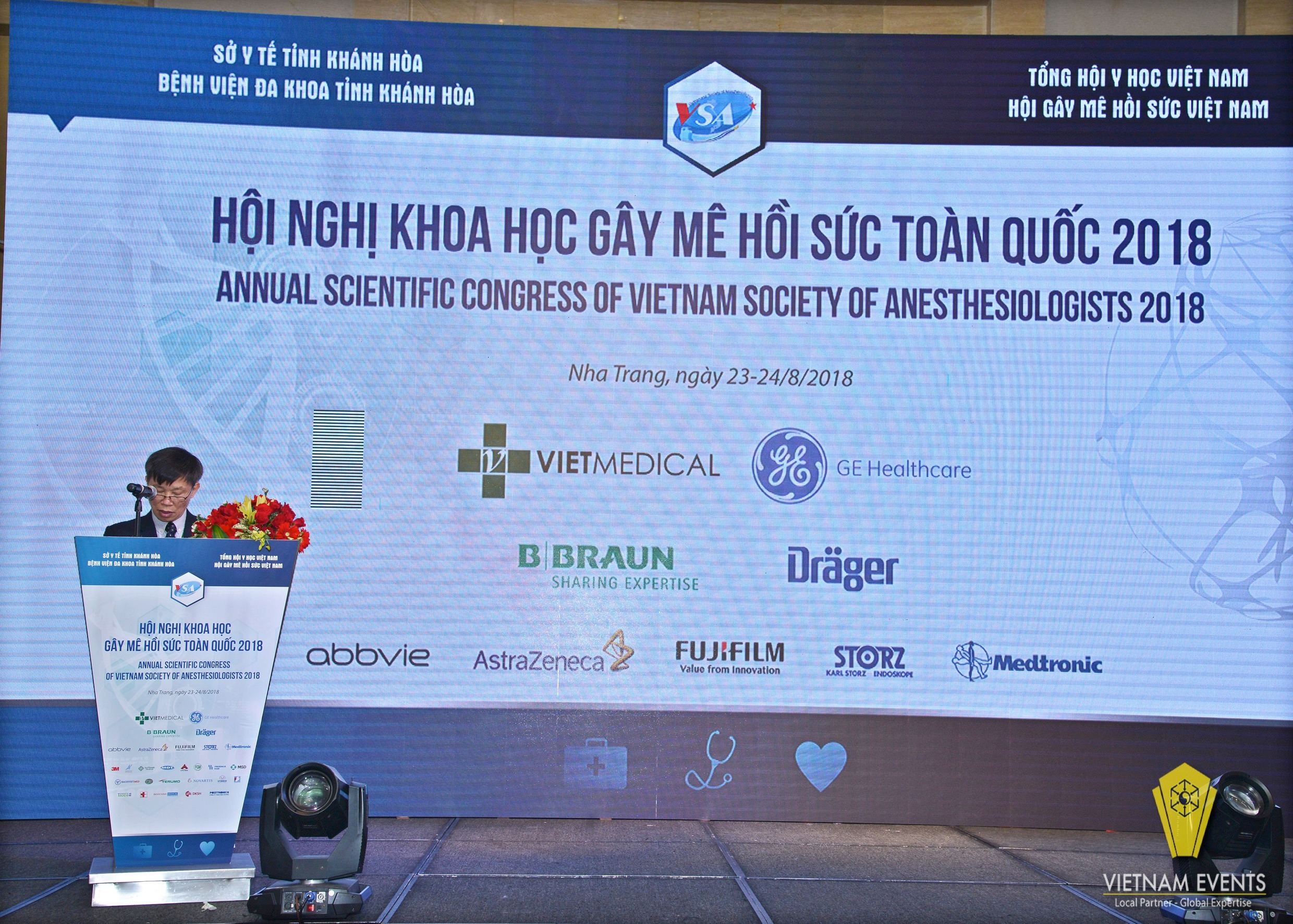 Annual Scientific Congress of Vietnam Society of Anesthesiologist 2018