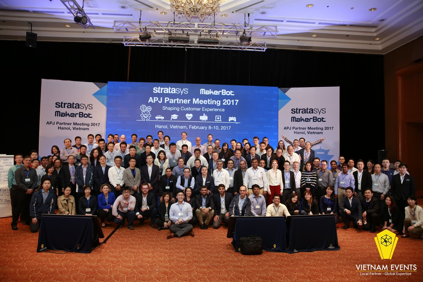 APJ Partner Meeting 2017 by Stratasys and Maker Bot