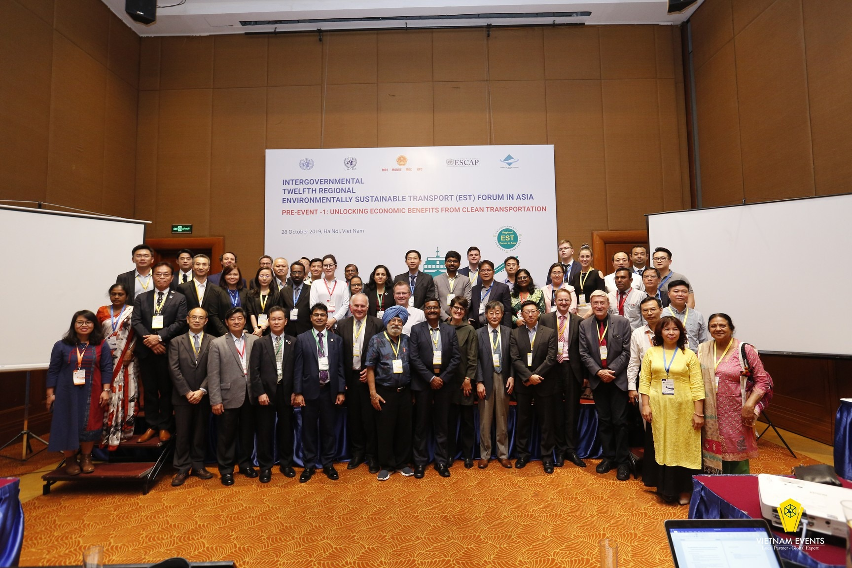 The 12th Intergovernmental Regional Environmentally Sustainable Transport (EST) Forum in Asia
