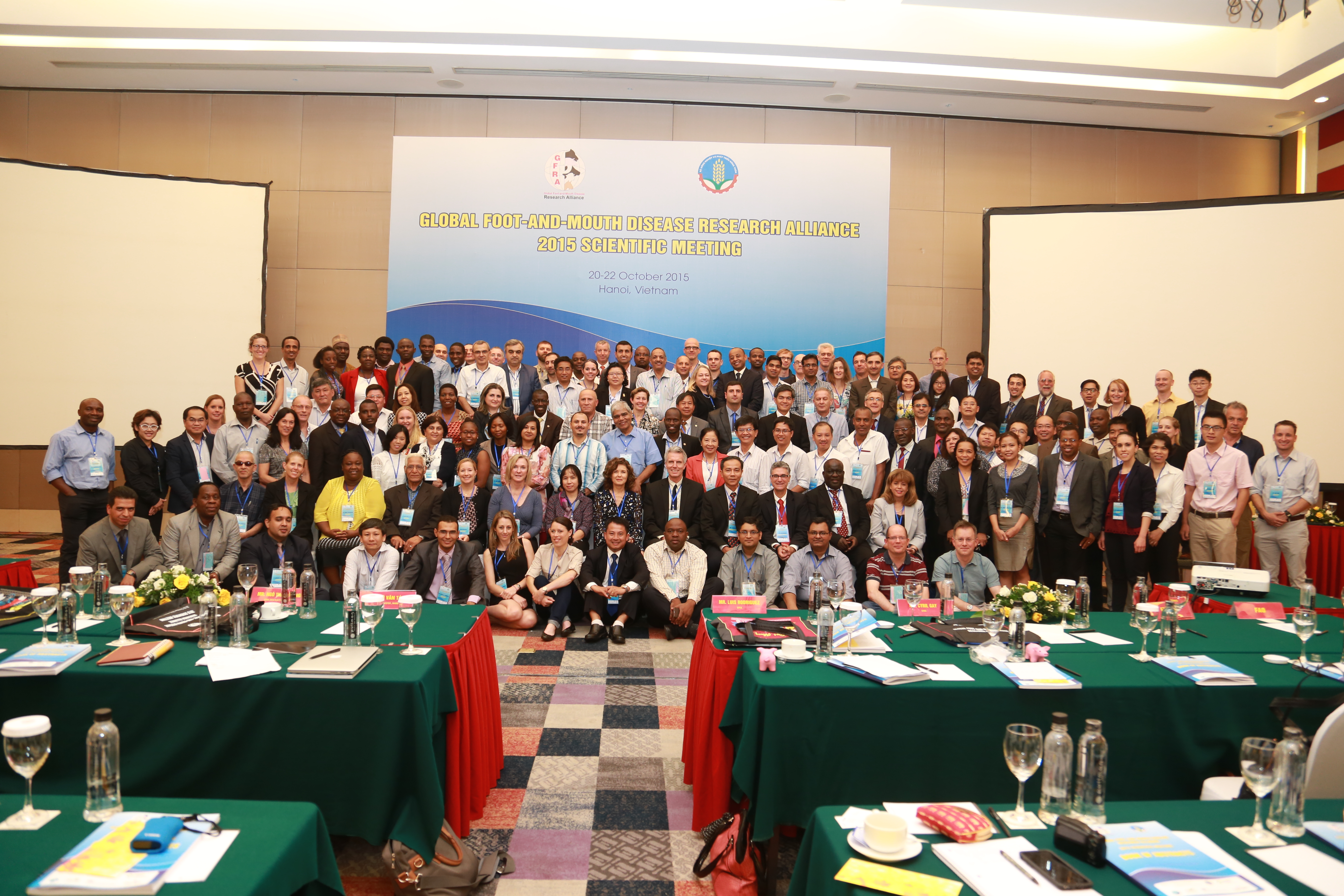 VietnamEvents supported The Global Foot and Mouth Disease Research Alliance (GFRA)